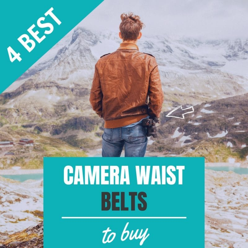 4 Best Photography Camera Waist Belts for Photographers to Buy