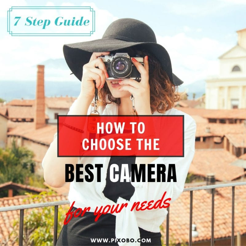 How to Choose the Best Camera for Your Needs – 7 Step Guide.