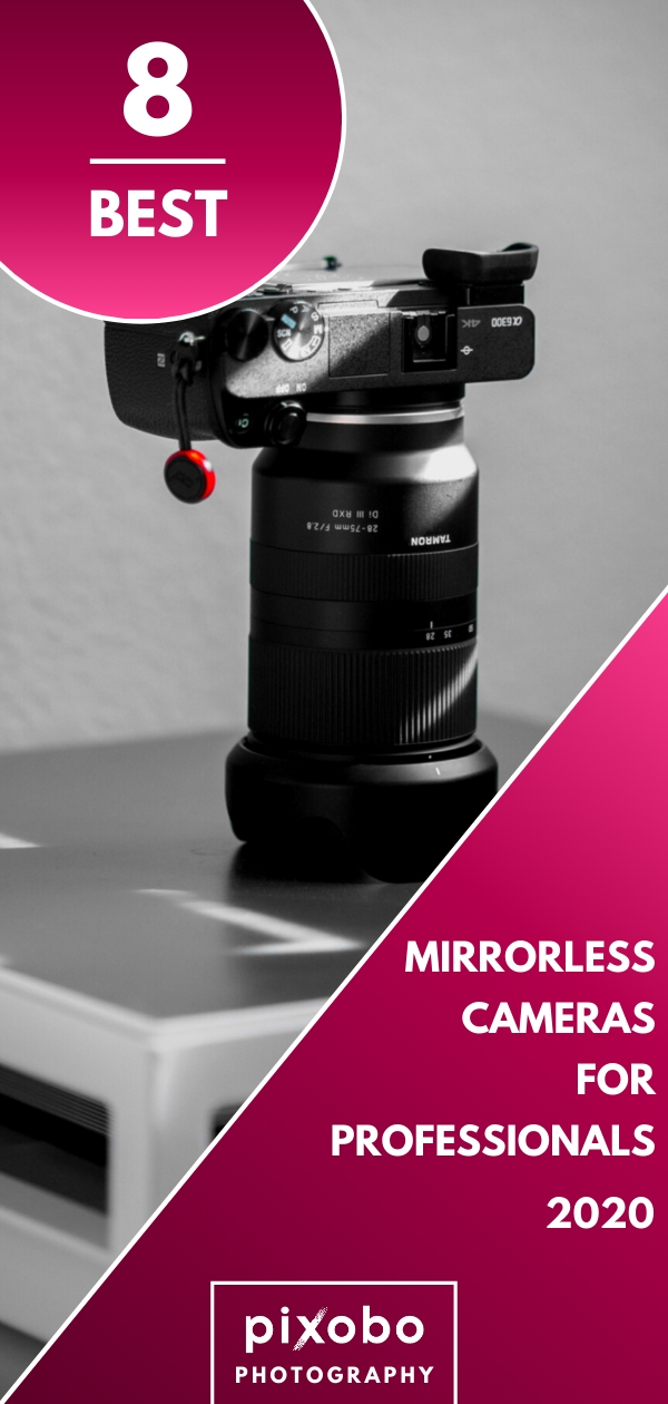 Mirrorless cameras have their own advantages because they come in a smaller size but they can still produce the same results as full-frame DSLRs. In this article, you can read what is a mirrorless camera and find out if you should buy a professional mirrorless camera. For you, we have prepared our list of 8 best professional mirrorless cameras in 2020. We will help you find is a professional mirrorless camera that suits you the best!  #mirrorlesscamera #mirrorlessphotography #bestcameras #camera