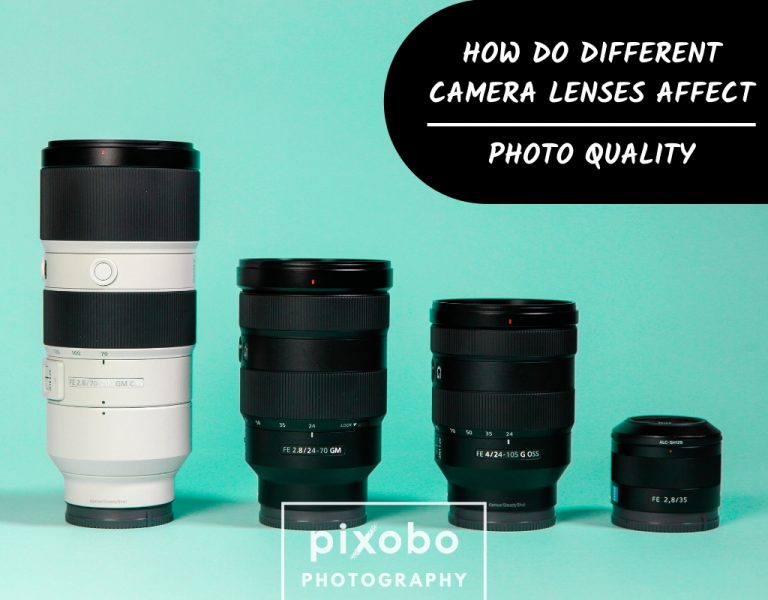 How Do Different Camera Lenses Affect Photo Quality
