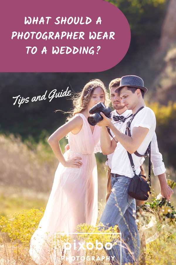 What Should a Photographer Wear to a Wedding: Tips & Guide